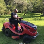 On Petrol Lawnmower -Chiino.co.uk