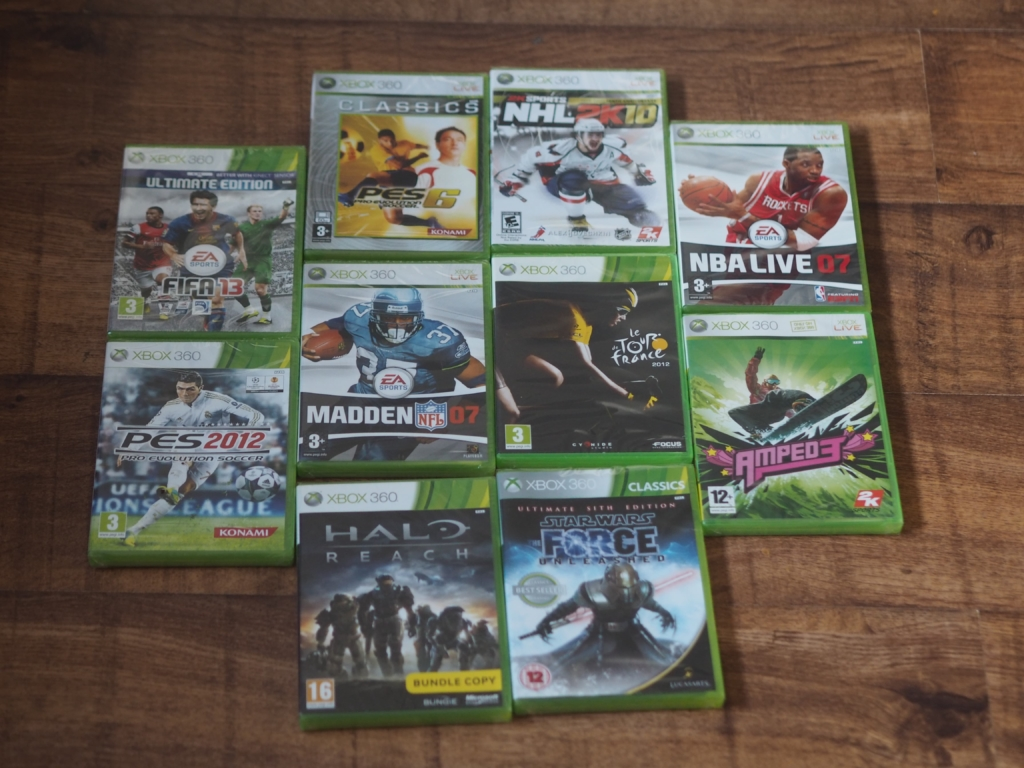 Chiino's Weekly Wins #12 Prize - Xbox 360 Games