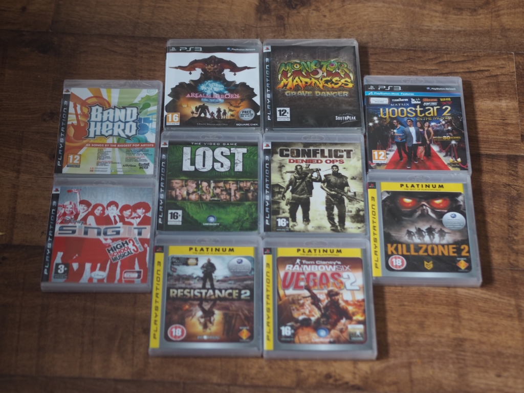 Chiino's Weekly Wins #13 Prize - PS3 Games Bundle