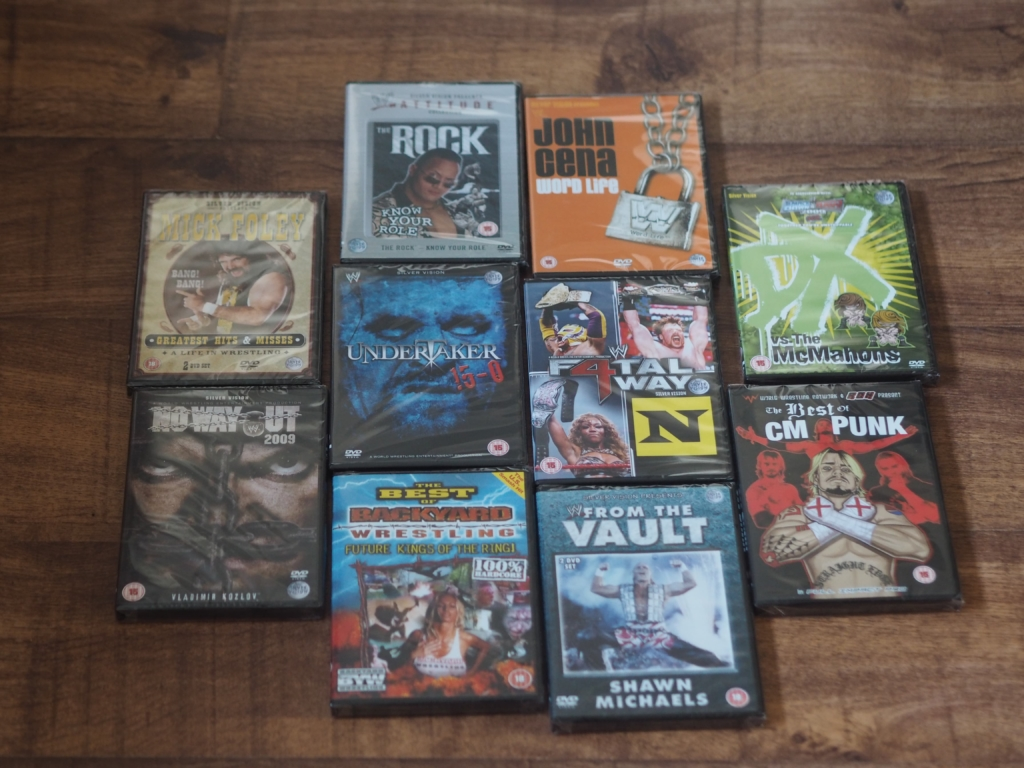 Chiino's Weekly Wins #15 - Prize Wrestling DVDs