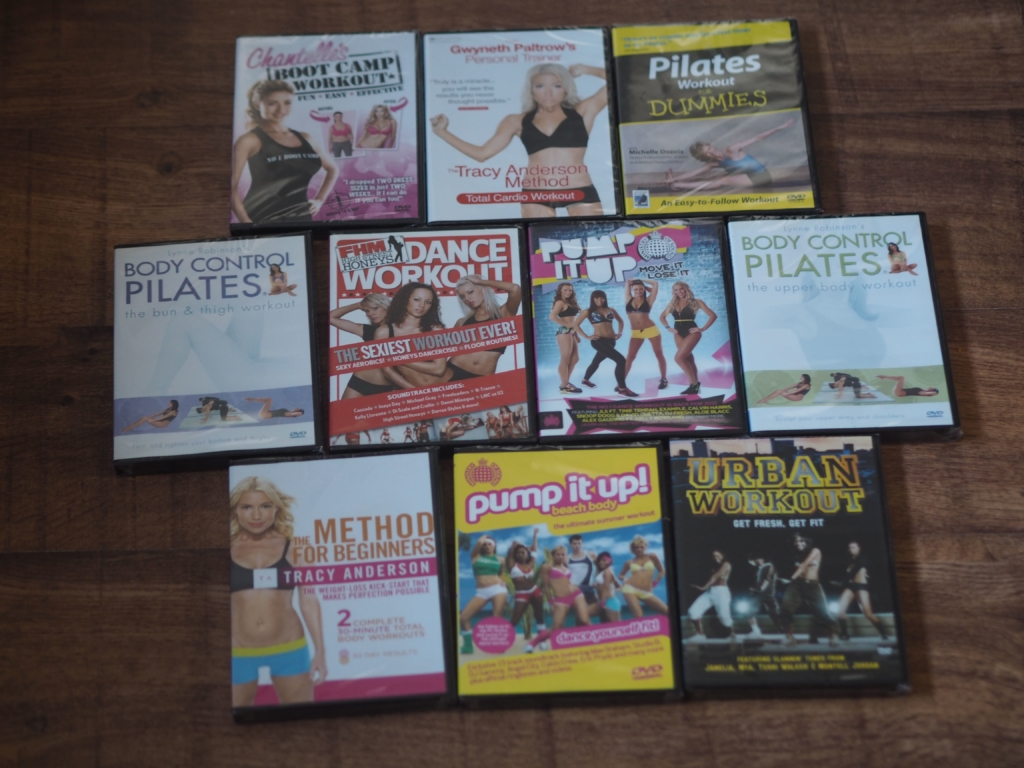 Chiino's Weekly Wins #8 - Women's Workout DVDs Bundle