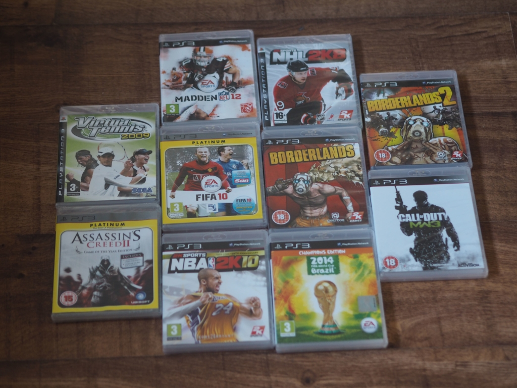 Chiino's Weekly Wins #9 Prize - PS3 Games Bundle